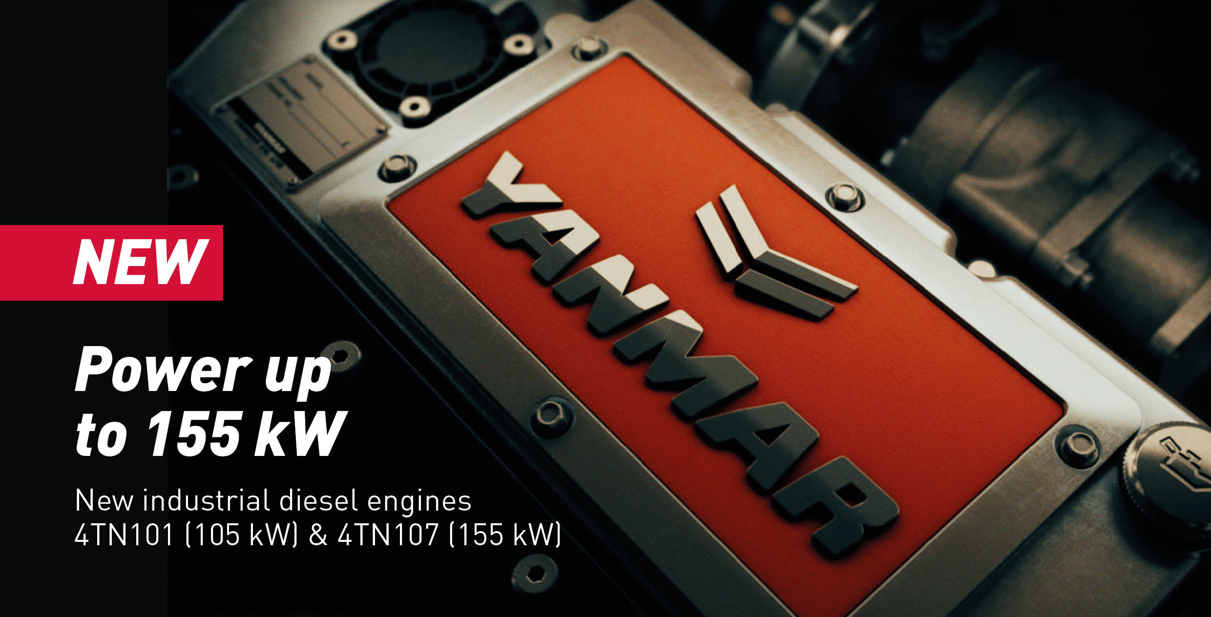 Yanmar extends its engine line up to 155 kW - Yanmar Europe